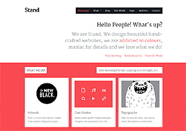 Stand- Responsive Agency Portfolio WordPress Theme
