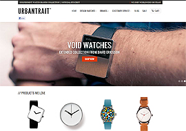 Design watch showcase & shop