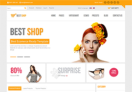 free ecommerce website templates for download