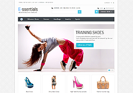 E-ssentials – Multipurpose Magento Template