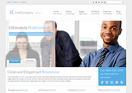 InnoCompany – Retina Ready Responsive Corporate wordpress theme