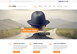 Maxima – Retina Ready Responsive WordPress Theme