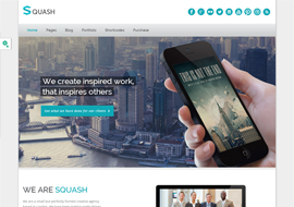 Squash – Creative Portfolio WordPress Theme
