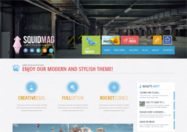 SquidMag – Responsive Multi-Purpose Theme