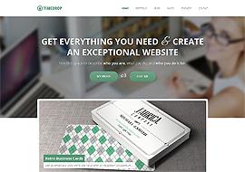 Timedrop – Responsive WordPress Portfolio Theme