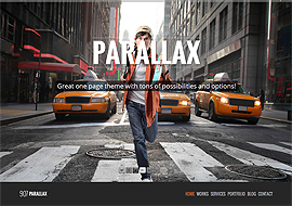 907 – Responsive WP One Page Parallax Theme