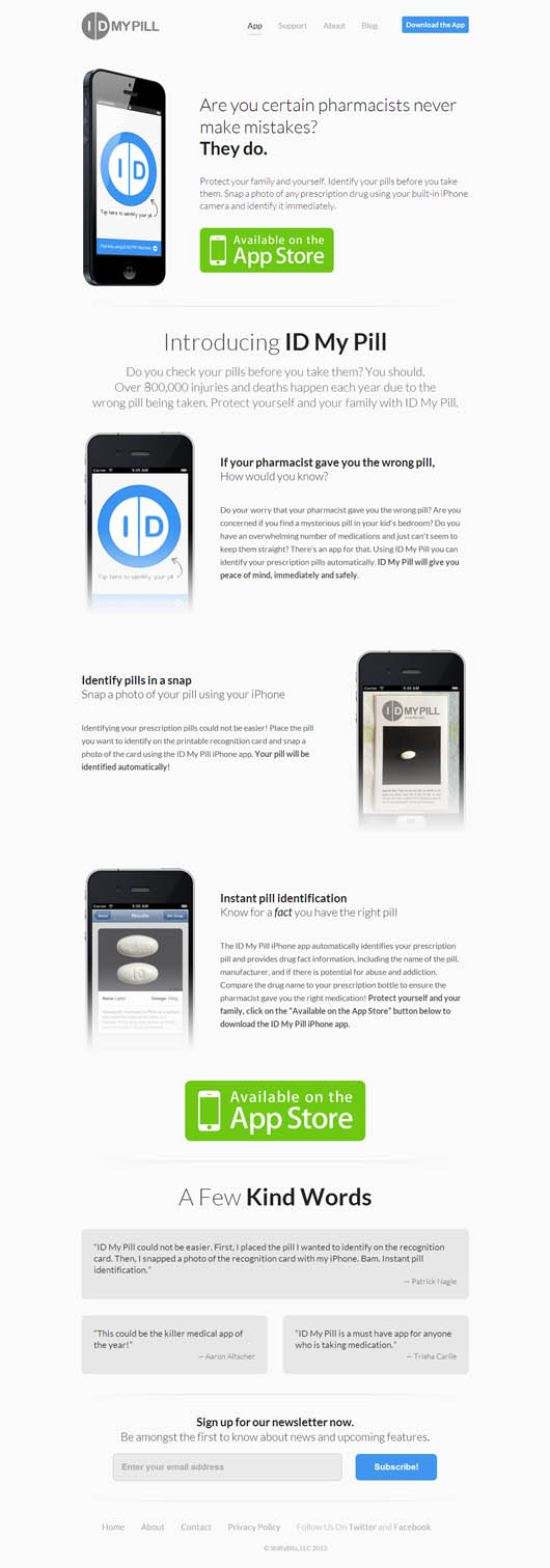 ID My Pill for iPhone: Automatic Prescription Drug Identification