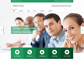 Park College – Education Responsive WP Theme