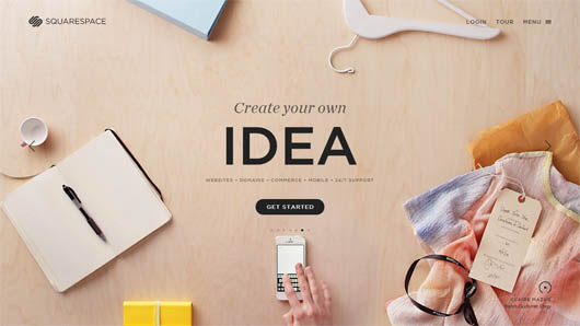 Design Your Own Space squarespace  create your own space | html5mania |  html5