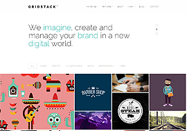 GridStack – Responsive Agency WordPress Theme