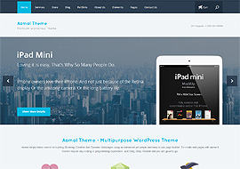 Aamal – Multi-Purpose WordPress Theme