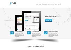 Nemu – Responsive Business WordPress Theme