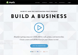 Shopify's Build a Business Competition