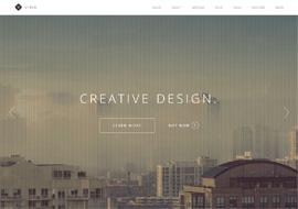 Visia – Responsive One Page Retina WordPress Theme