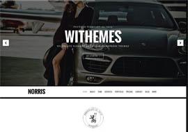 Norris – Elegant Onepage WordPress Theme