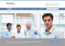 BusinessBox – Responsive Business WordPress Theme