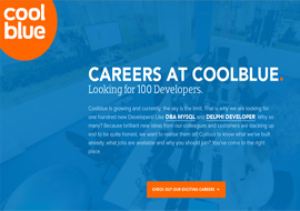 Careers at COOLBLUE