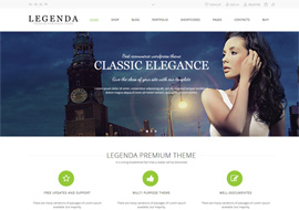 Legenda – Responsive Multi-Purpose Ecommerce Theme