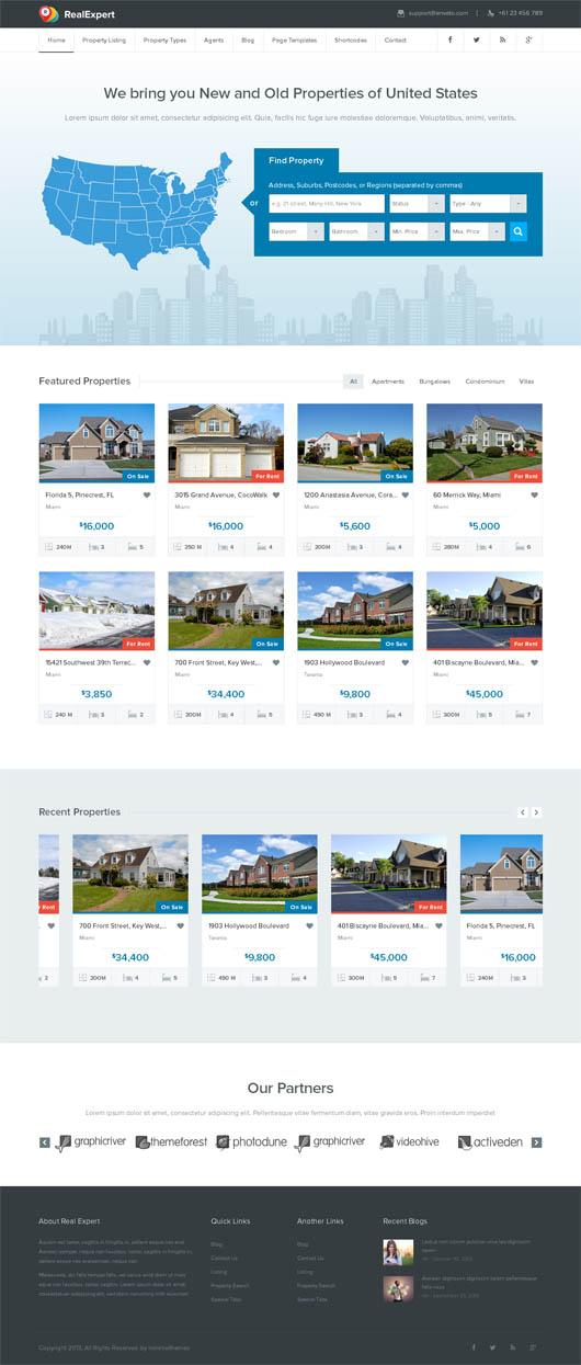 Real Expert – Responsive Real Estate WP Theme