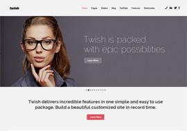 Twish – Responsive Multi-Purpose WordPress Theme