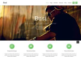 Busi – Responsive Multi-Purpose WordPress Theme