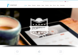 Fortis7 – Responsive Multi-Purpose Theme