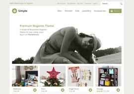 Simple – Responsive Magento Theme