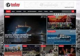 Today – Info News & Magazine WordPress Theme