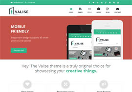 Valise – Agency / Personal Portfolio WordPress Theme