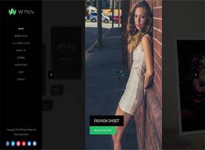 Wynn – Fullscreen Ajax Portfolio Theme