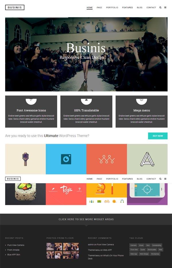 Businis – Ultimate Modern WordPress Theme