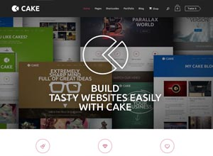 Cake – Responsive Multi-Purpose WordPress Theme