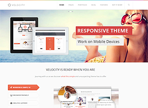 Velocity – Feature Rich, Responsive and Super flexible Drupal Theme
