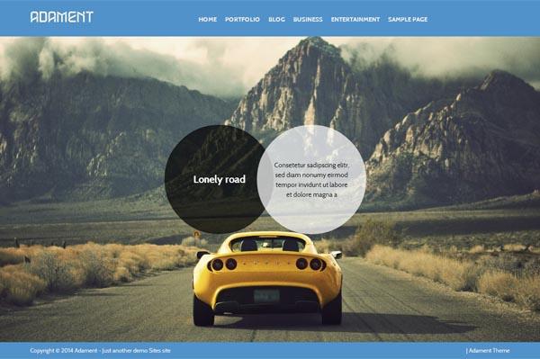 Free Premium Responsive WordPress theme built on Bootstrap 3 framework