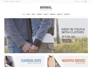 Minimal – Multi Purpose WooCommerce Theme