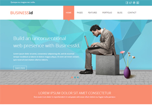 BusinessID – Responsive HTML5 Template