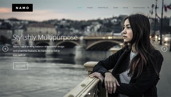 NAMO – Creative Multi-Purpose WordPress Theme