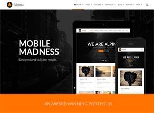 Alpina – Creative Multi-Purpose WordPress Theme