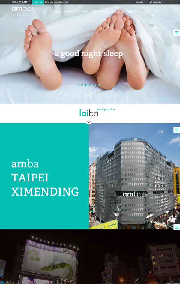 amba TAIPEI XIMENDING Hotel