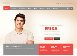 Erika – Responsive Multipurpose WordPress Theme