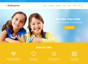 Kindergarten – Children WordPress Theme