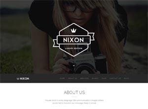 Nixon – Creative One Page Multi-Purpose Theme