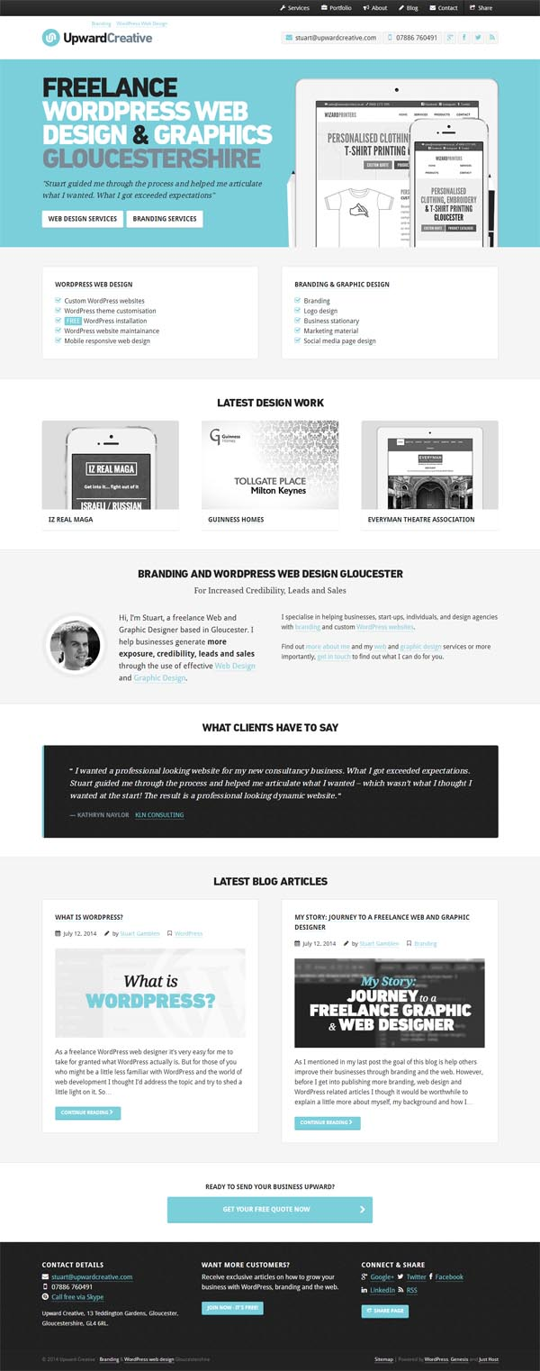 Upward Creative | Branding & WordPress Web Design