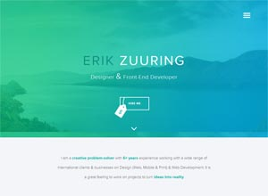 Erik Zuuring / Designer & Front-End Developer