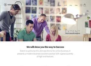 Extent – Responsive WordPress Blog theme