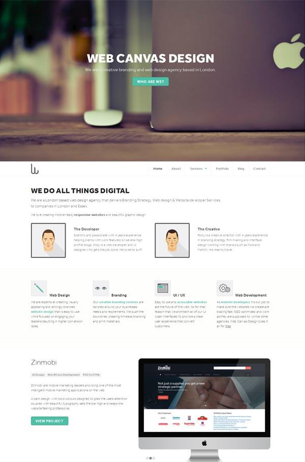 Web Canvas Design