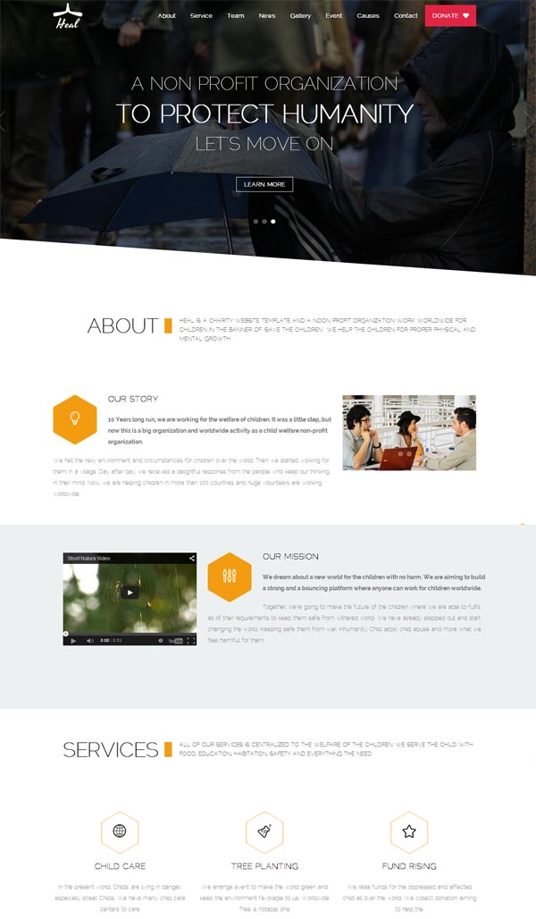 Heal – Premium WordPress Theme