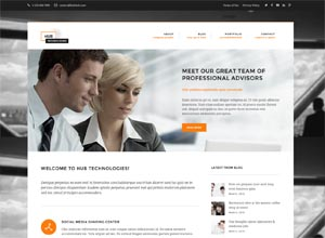 Hub Technologies – Business WordPress Theme