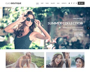 Click Boutique – Fashion Shop WordPress WooCommerce Theme