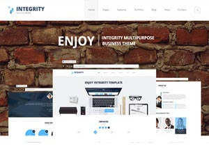 Integrity – Business WP Theme